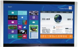 數位教學設備-多點觸控螢幕-80 吋LED多點觸控螢幕