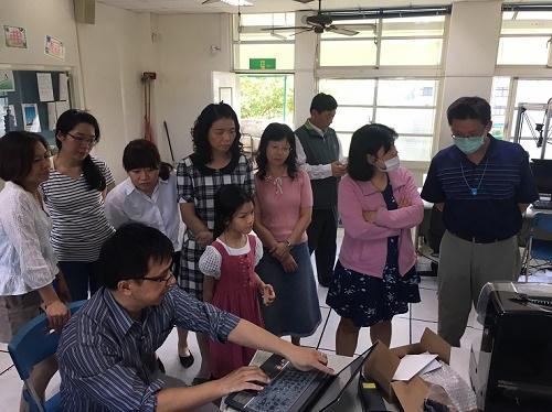 創客教室專區-桌上型 CNC 切雕雷射機-創客研習記錄